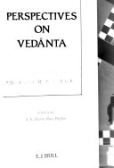 Perspectives on Vedānta
