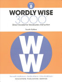 Wordly Wise  Book 8 Book
