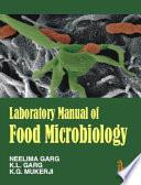 Laboratory Manual of Food Microbiology Book PDF