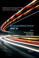 Advanced Vehicle Control [Pdf/ePub] eBook