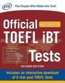 Official TOEFL iBT Tests Volume 2, Second Edition [Pdf/ePub] eBook
