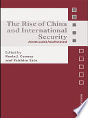 The Rise of China and International Security Pdf/ePub eBook