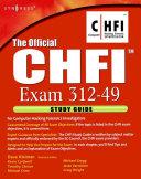The Official CHFI Study Guide (Exam 312-49)