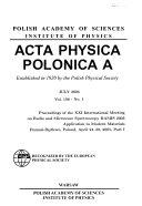 Acta Physica Polonica