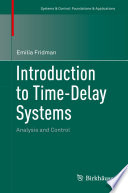 Introduction to Time Delay Systems