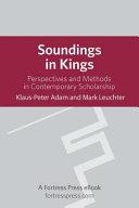 Soundings in Kings