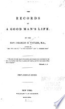 The Records Of A Good Man S Life