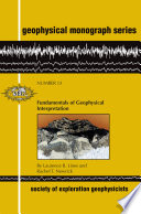 Fundamentals Of Geophysical Interpretation Book PDF