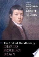 The Oxford Handbook of Charles Brockden Brown