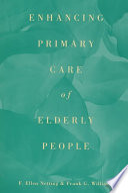 Enhancing Primary Care Of Elderly People Book PDF