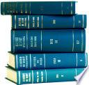 Recueil Des Cours Collected Courses 1962