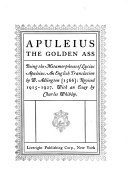 The Golden Ass Pdf/ePub eBook