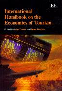 Pdf International Handbook on the Economics of Tourism Telecharger