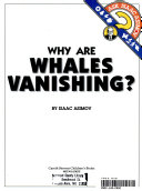 Why are Whales Vanishing