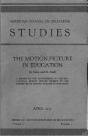 The Motion Picture in Education