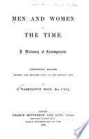 Men And Women Of The Time
