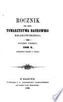 Rocznik Towarzystwa Naukowego Krakowskiego