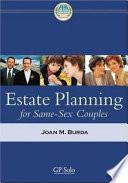 Estate Planning For Same Sex Couples