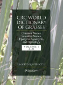 Pdf CRC World Dictionary of Grasses Telecharger