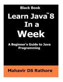 Learn Java 8 In A Week