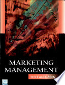 Marketing Management: Text & Cases