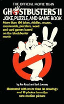 The Ghostbusters II Joke  Puzzle  and Game Book