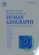 International Encyclopedia Of Human Geography