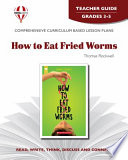 How to Eat Fried Worms Teacher Guide