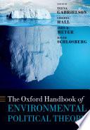 The Oxford Handbook of Environmental Political Theory Book