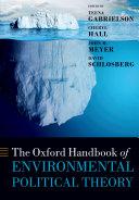 The Oxford Handbook of Environmental Political Theory Pdf/ePub eBook
