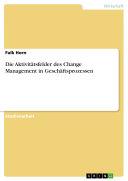 Die Aktivitätsfelder des Change Management in Geschäftsprozessen