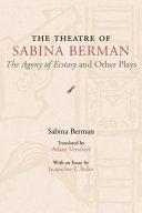 The Theatre of Sabina Berman