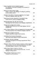Linguistics  Language Teaching  and Language Acquisition