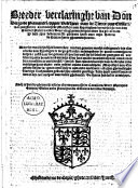 Breeder Verclaringhe Van Don Diego De Piementel Opper Veltheer Ouer De Tierce Van Cicilien