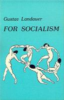 For Socialism