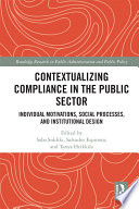 Contextualizing Compliance in the Public Sector