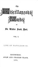 The Miscellaneous Works of Sir Walter Scott, Bart. ...