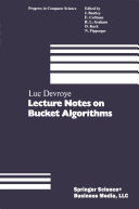 Lecture Notes on Bucket Algorithms
