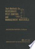 Test Methods for Vertebrate Pest Control and Management Materials