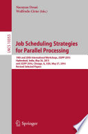 Job Scheduling Strategies for Parallel Processing Book