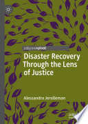Disaster Recovery Through the Lens of Justice Book