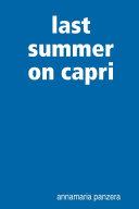 Last Summer on Capri
