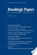Brookings Papers On Economic Activity Spring 2019