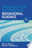 Principles of Research in Behavioral Science Book PDF