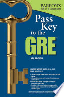 Pass Key to the GRE Book