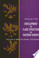 Development Of Class Structure In Eastern Europe