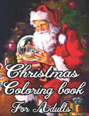 Christmas Coloring Book For Adults Book PDF