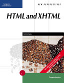 Cover of New perspectives on HTML and XHTML