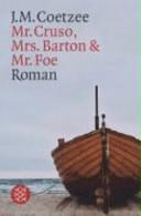 Mr Cruso Mrs Barton Und Mr Foe