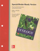 Loose Leaf for Ecology  Concepts and Applications
